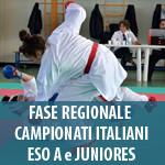 8 NOVEMBRE - FASE REGIONALE CAMPIONATI ITALIANI ESO A E JUNIORES
