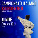 11 OTTOBRE - CAMPIONATI ITALIANI ESO B