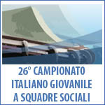 1 NOVEMBRE - 26° CAMPIONATO ITALIANO GIOVANILE A SQUADRE SOCIALI