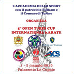 1 MAGGIO - 5° OPEN TURIN CUP INTERNATIONAL KARATE