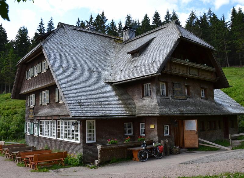 Wanderwirtschaft - Schwedenschanze am Rohrhardsberg