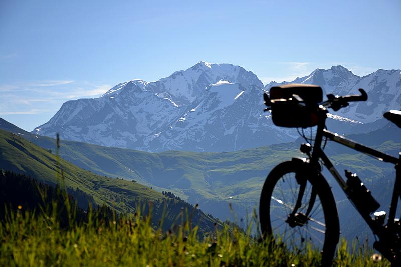 Mont Blanc, eplatzer, Frankreich, Fahrradtour