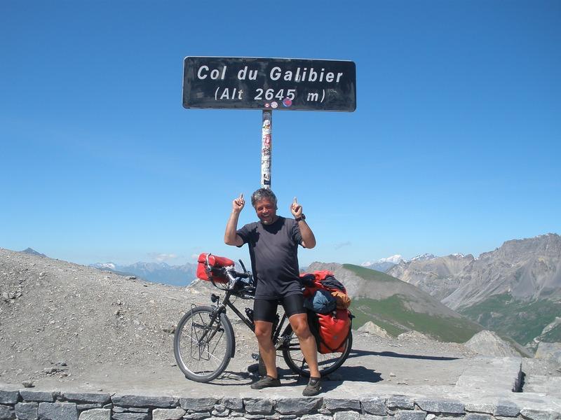 Col du Galibier,  2645 m  (Frankreich)