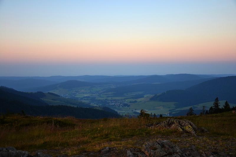 Bernau in den Morgenstunden - vom Herzogenhorn