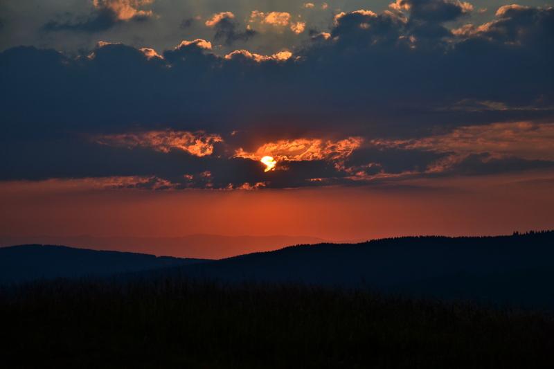 Sonnenuntergang - Herzogenhorn