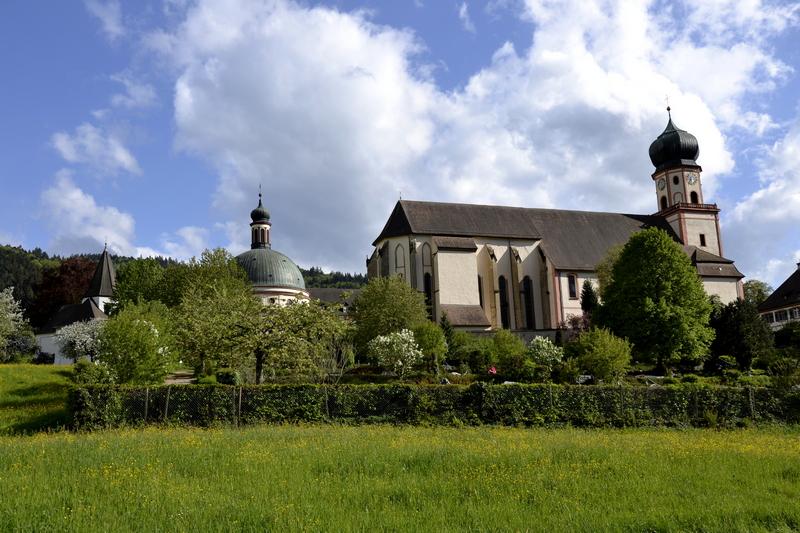 Kloster St. Trudpert,   Münstertal / Schwarzwald