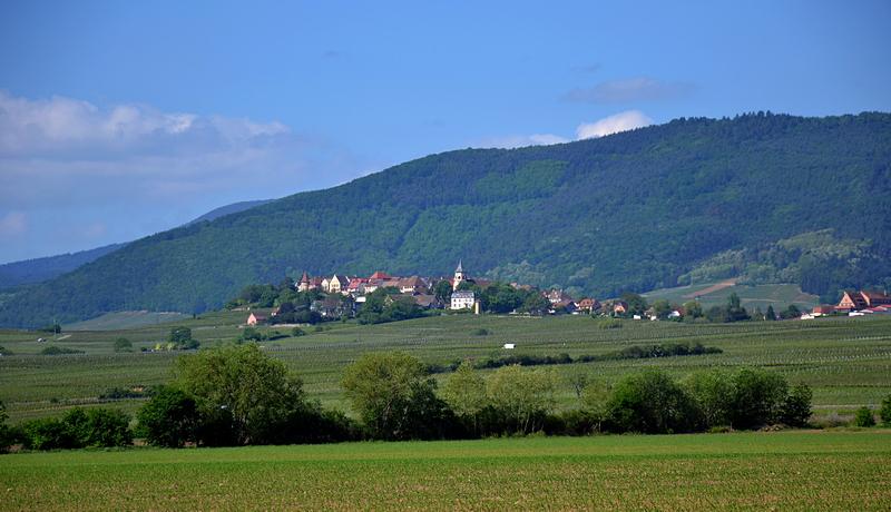 Eines der vielen Weindörfer im Elsass