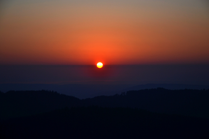 Sonnenaufgang - Herzogenhorn