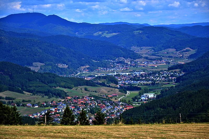 Hofstetten, Haslach und Fischerbach im Kinzigtal
