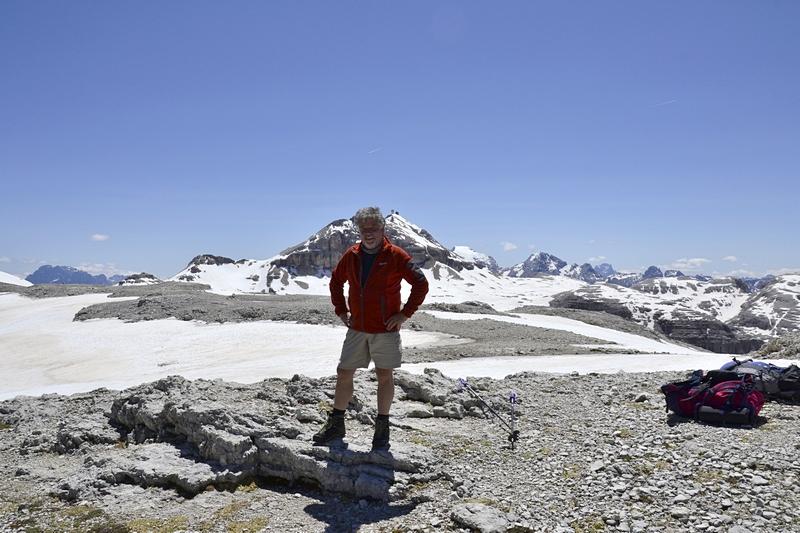 Sellastock mit Piz Boè 3152 m  (Dolomiten)