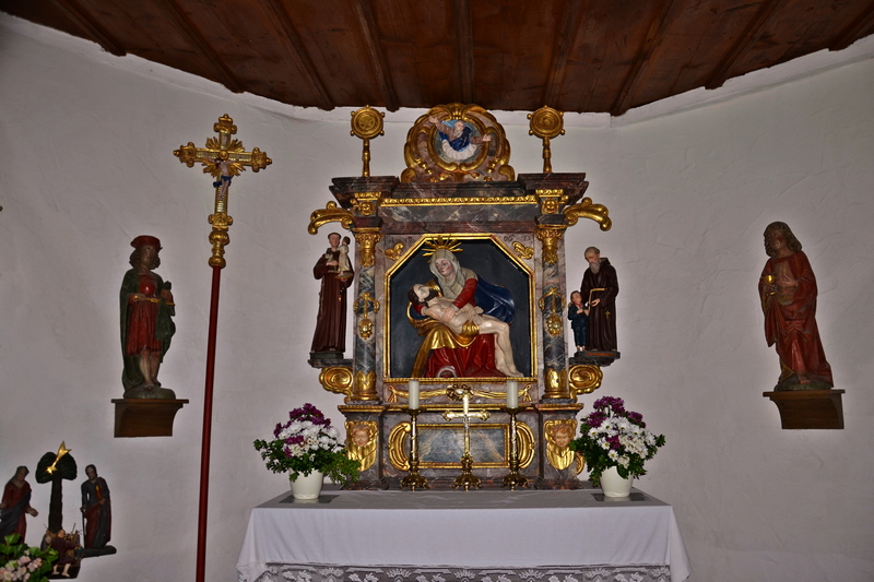 Altar Martinskapelle - Furtwangen