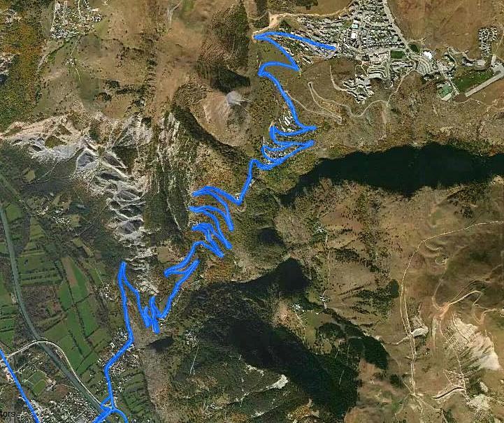 Alpe d'Huez 1860 m, Fahrradtour Frankreich, eplatzer, Tour Bon courage,
