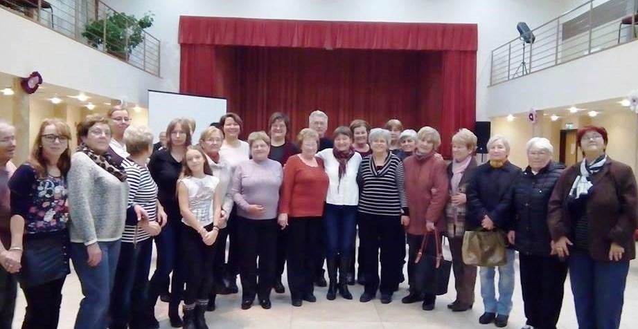 A borsodnádasdi résztvevők csoportja