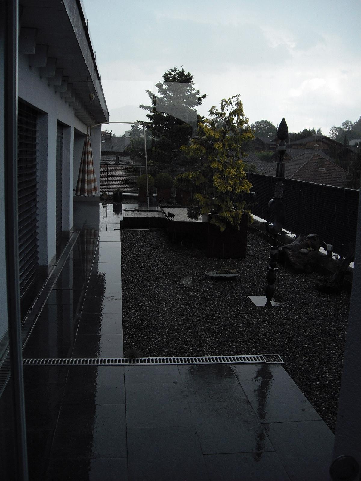 Juli / Willkommener Regen ... 4