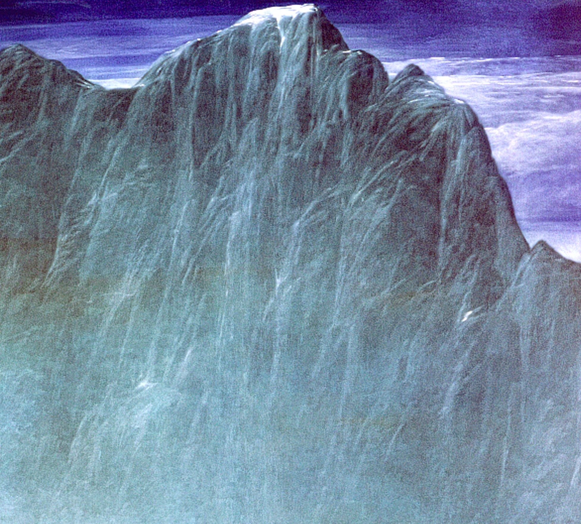 Josef Taucher, Abtragung XV, 1981, Öl/Molino, 150 x 150 cm © Josef Taucher