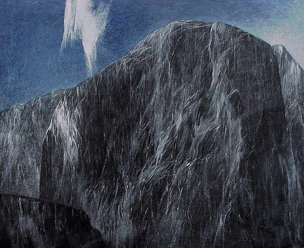 Josef Taucher, Nacht 12, 2002, Öl/Molino, 60 x 75 cm © Josef Taucher