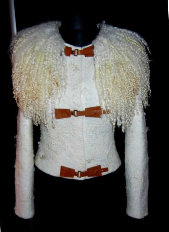 Куртка Белый жемчуг. Цена $265
