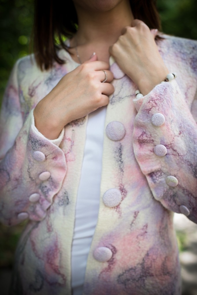Пальто Орхидеи    $300