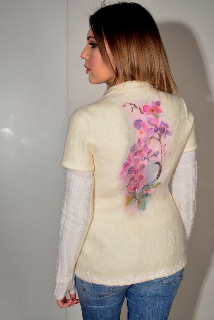 Жакет Орхидеи. Цена $225