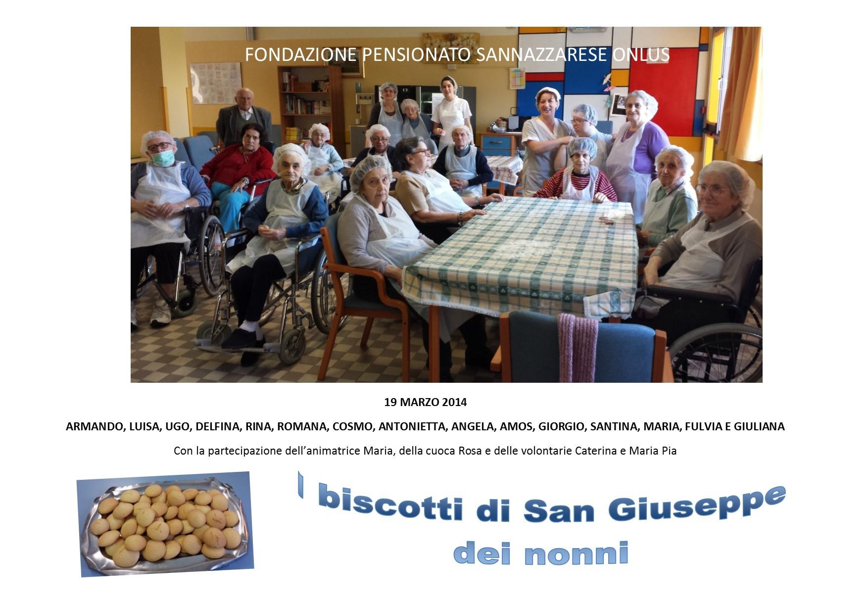 I biscotti di San Giuseppe, 19 marzo 2014