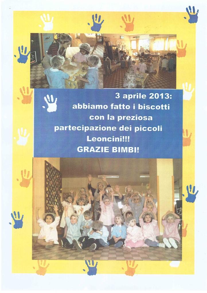 Leoncini, 3 aprile 2013