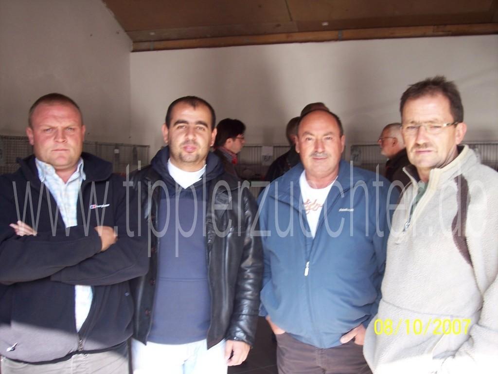 50 jähriges Jubiläum in Bad Rotenfelde 06.+07.10.2007 - Paul Bowden (GB, NTU-Mitglied), Ahmed Mehmed (BG) (v.r.)