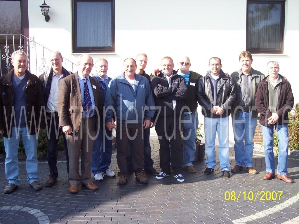 50 jähriges Jubiläum in Bad Rotenfelde 06.+07.10.2007 - Gruppenfoto der NTU, NVC und NTK-BG Mitglieder