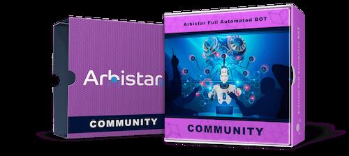 COMMUNITY BOT - Arbistar 2.0