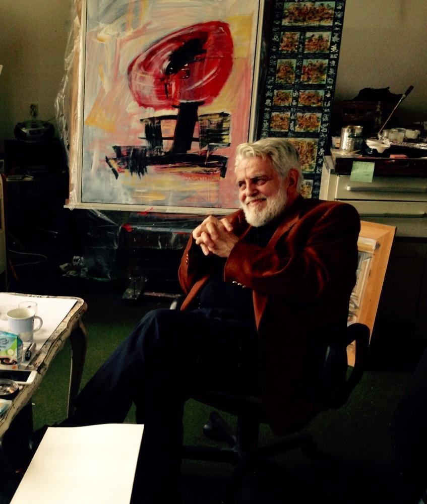 Gerrit M. Bekker im Gespräch
