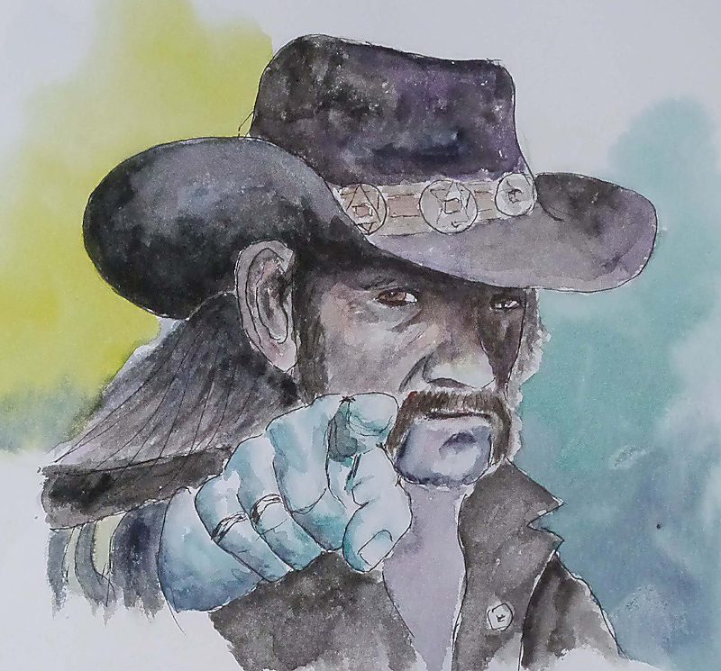 Lemmy, Portrait
