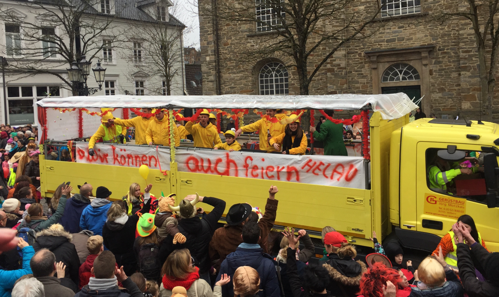 Karnevalszug Velbert-Langenberg 2017