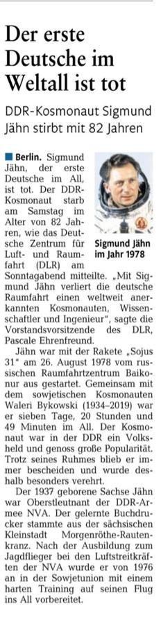 """""""Rhein-Zeitung"""" 23.09.2019"""
