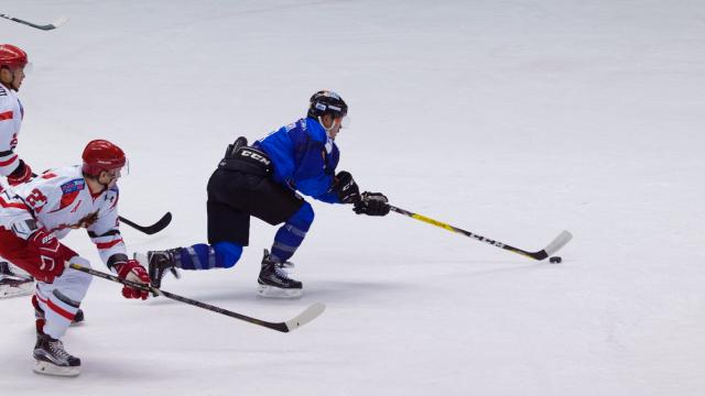アイスバックス vs チャイナドラゴン: 古橋選手の2点目