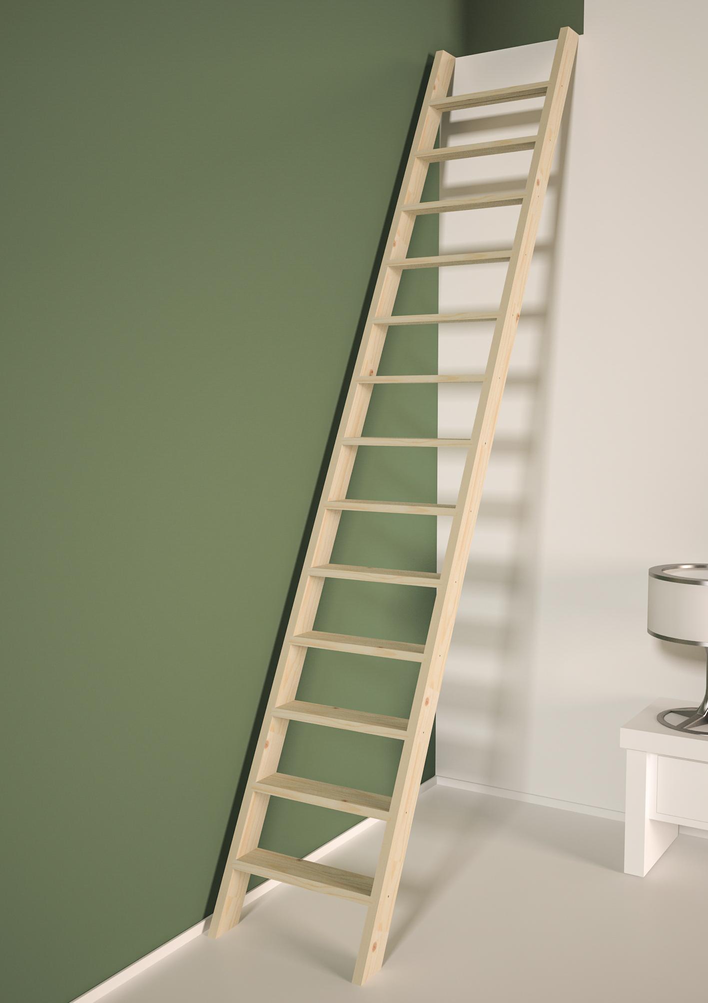 Cottage PREMIUM escalier droit sans rampe