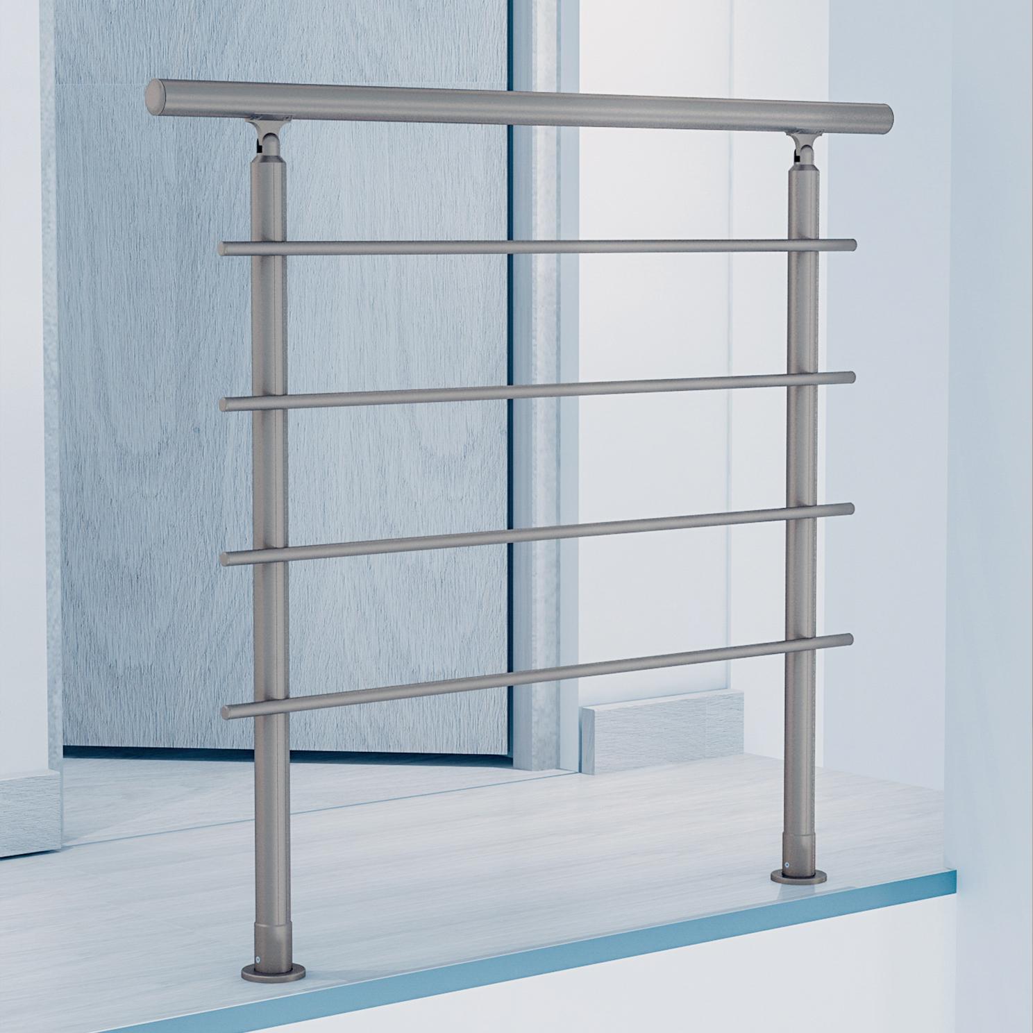 BRETAGNE - Alu anodisé inox - 120cm