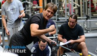 Ausbildung bei Dr. Axel Gottlob zum Master Trainer für Fitness, Personal Training, Prävention und Trainingstherapie