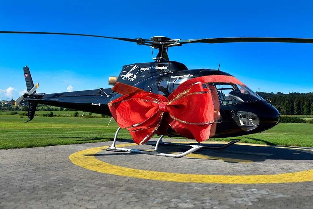 Hubschrauberflug Düsseldorf Geschenk