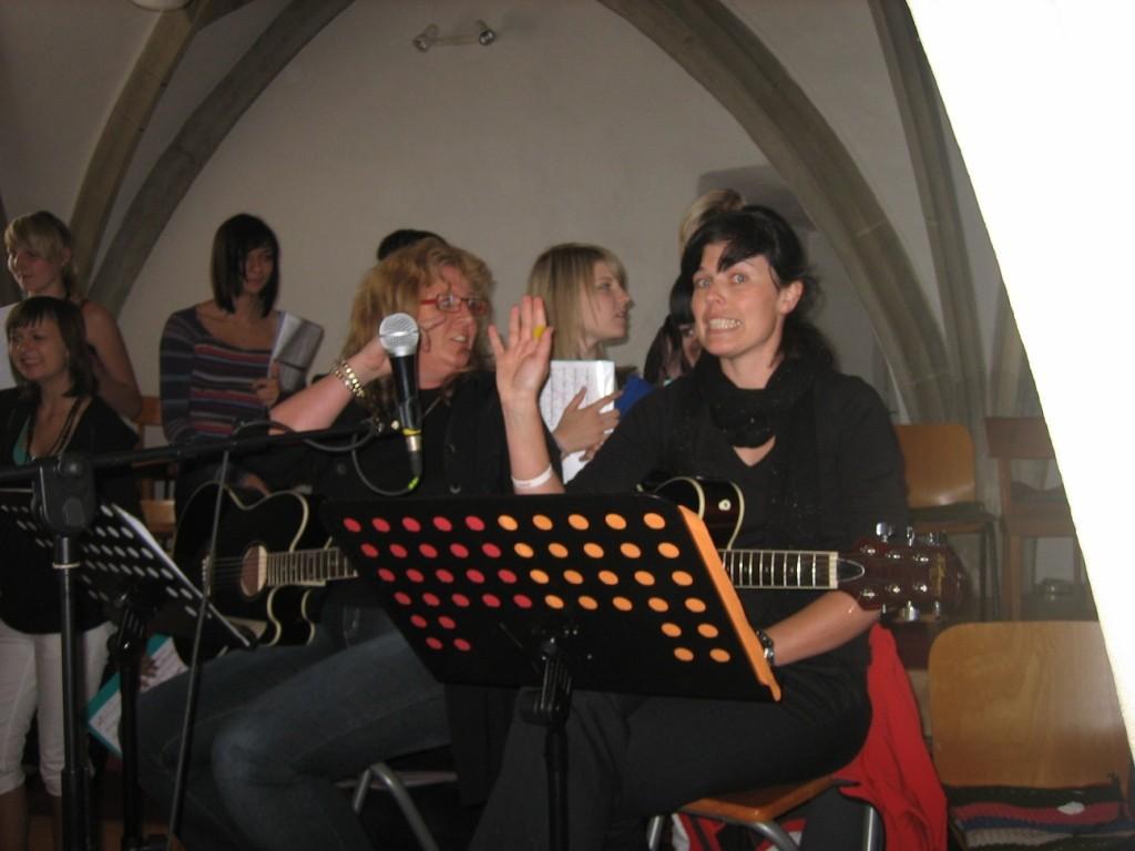 An den Gitarren, Karin & Sly