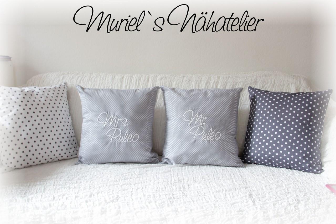 f r grosse kissen zur hochzeit muriels n hatelier. Black Bedroom Furniture Sets. Home Design Ideas