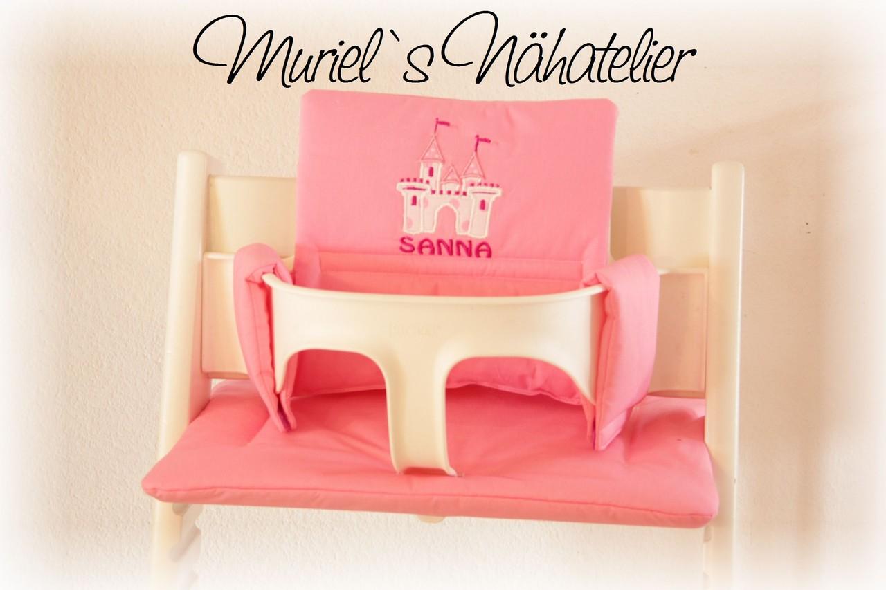 Sitzkissen beschichtet für stokke tripp trapp rosa amazon
