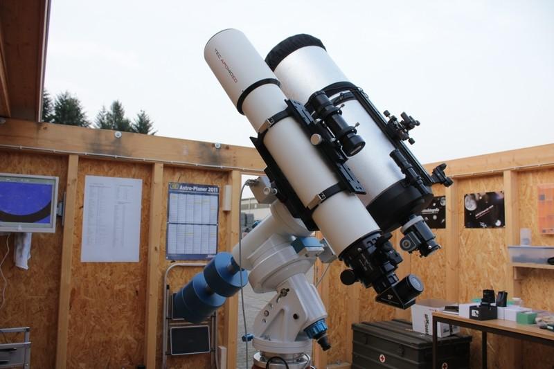 TEC 140mm APO & C9.25 parallel auf WS240GT