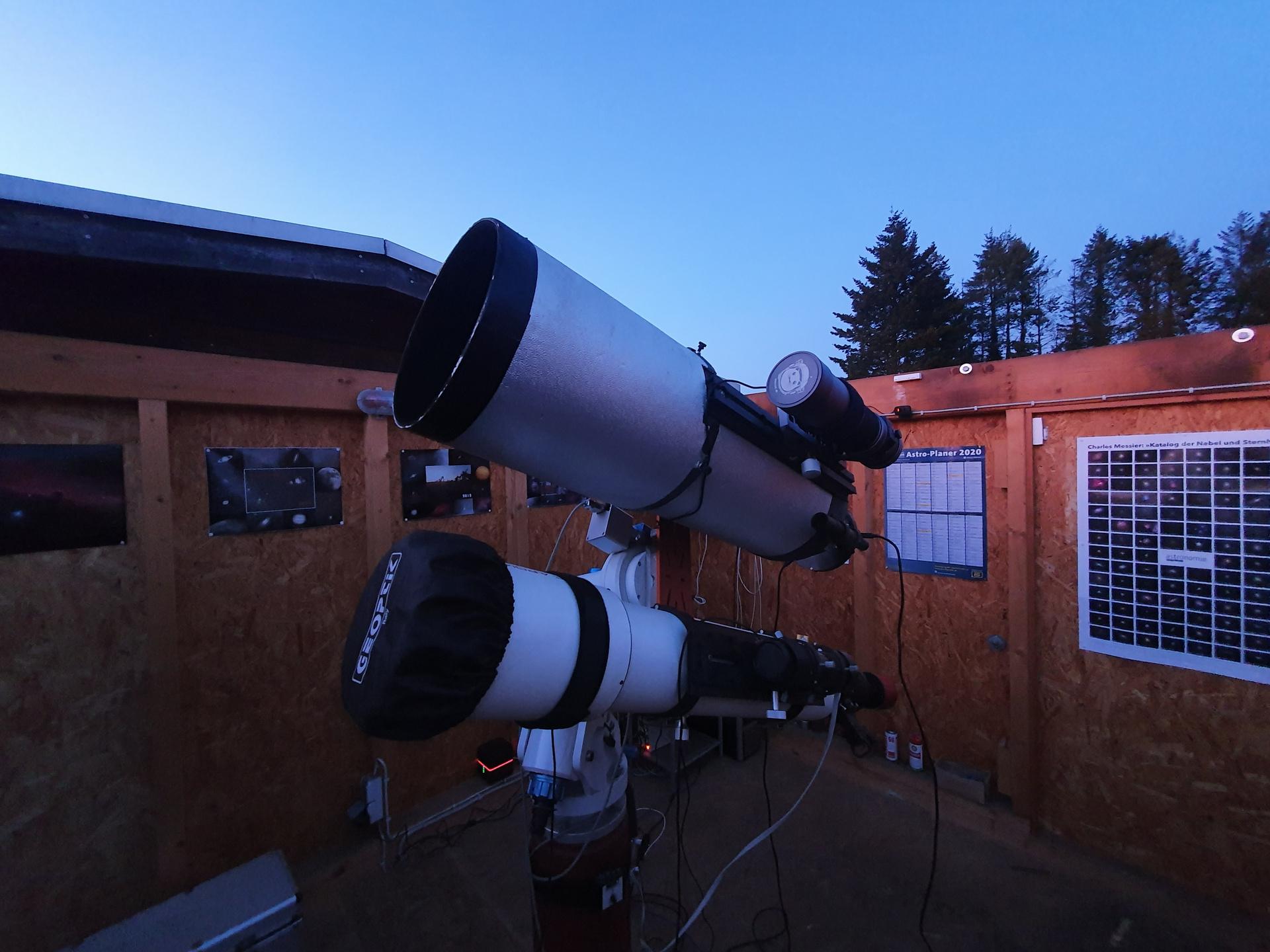 Hochauflösende Mondaufnahme mit dem C9.25