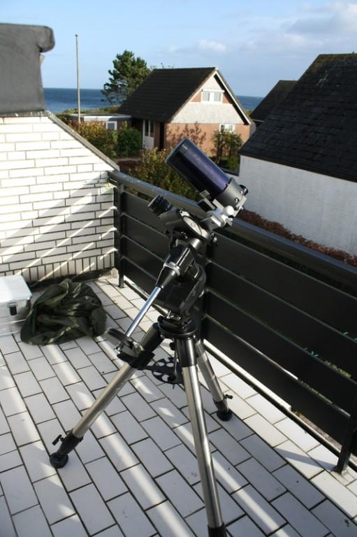 """""""Kleines Reiseteleskop"""" ETX90-OTA auf CAM"""