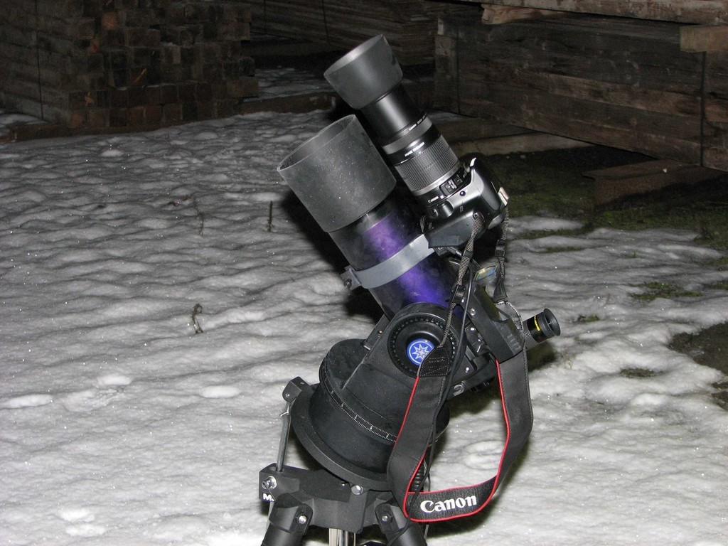 """""""Kaltes Hobby"""" - Beginnende Eisbildung bei Langzeitfotografie im Winter"""