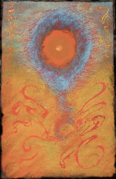 bulle Katja - 10 x15 pastels gras collection privée