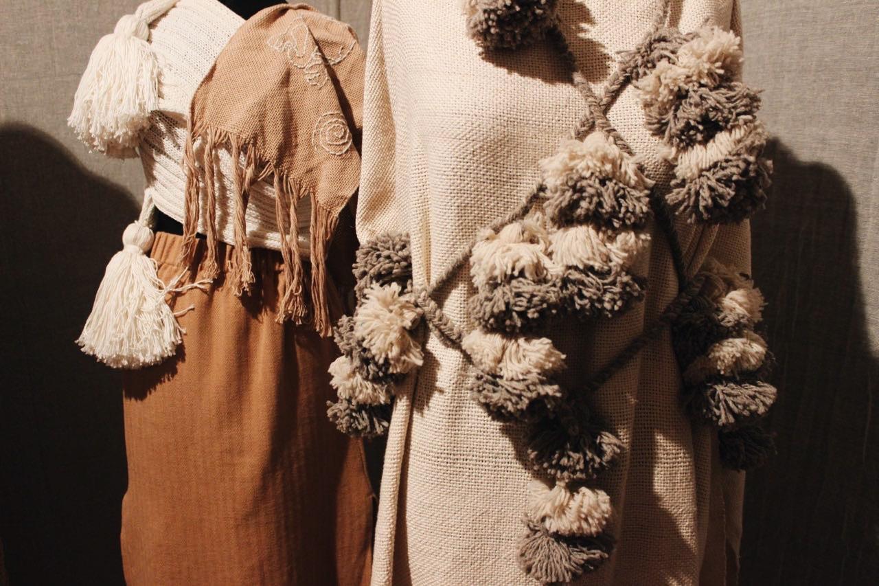 El homenaje al algodon moche por Titi Giulfo