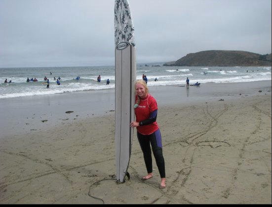 I tried surfing while in America. Loved it!