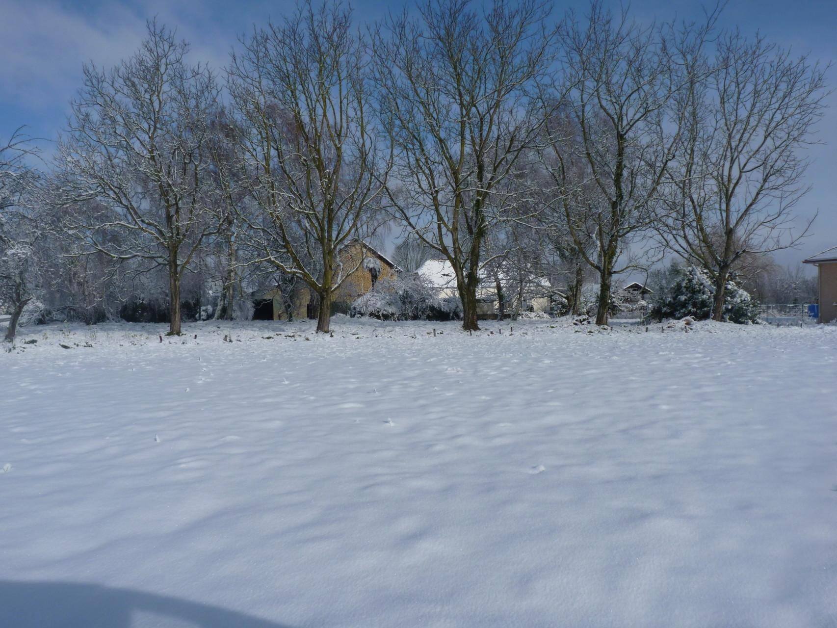 Garlède-Mondebat sous la neige fév. 2015