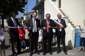 Inauguration de l'école de Garlède-Mondebat