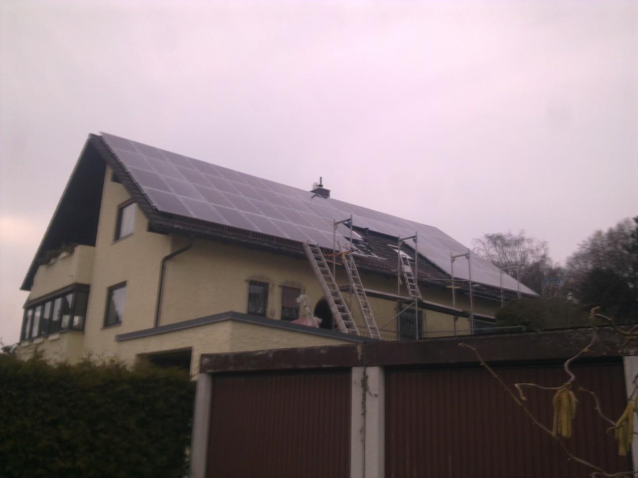 15 kWp Photovoltaikanlage in 93055 Regensburg
